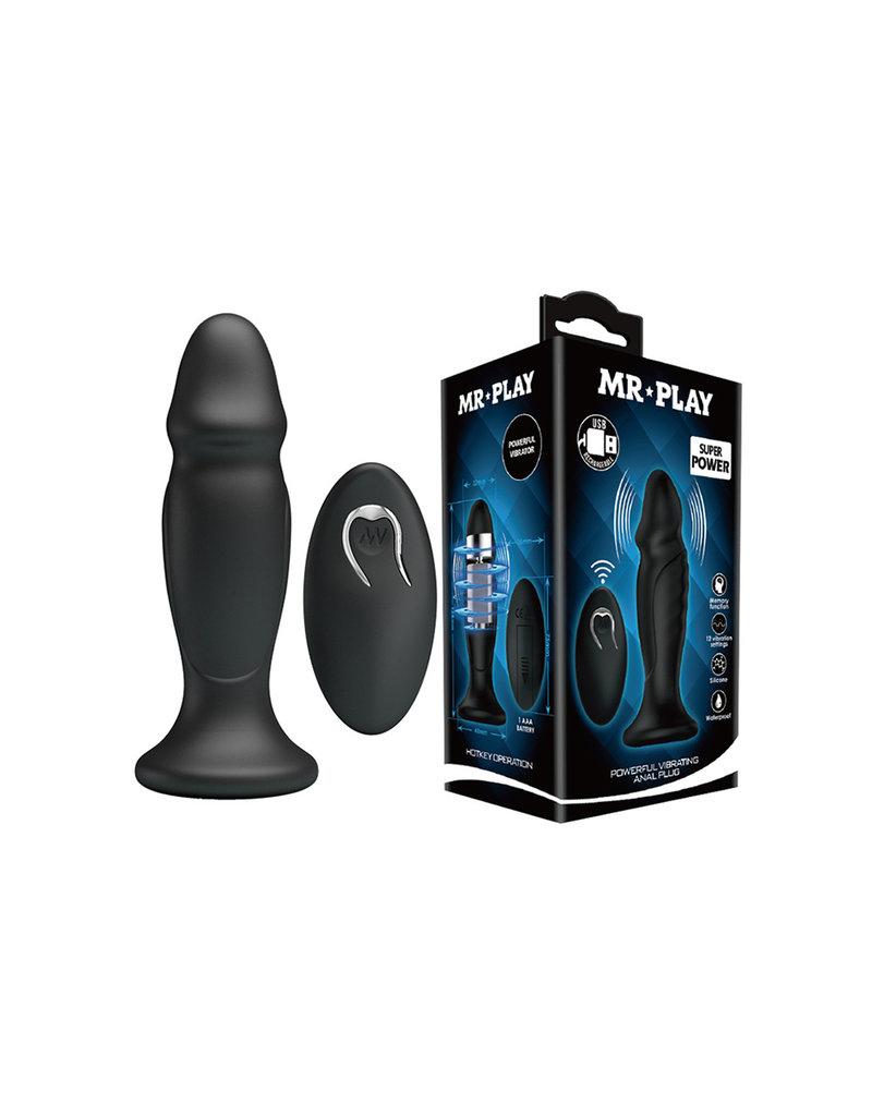 Mr Play Mr. Play Powerful Anal Plug P-Shape