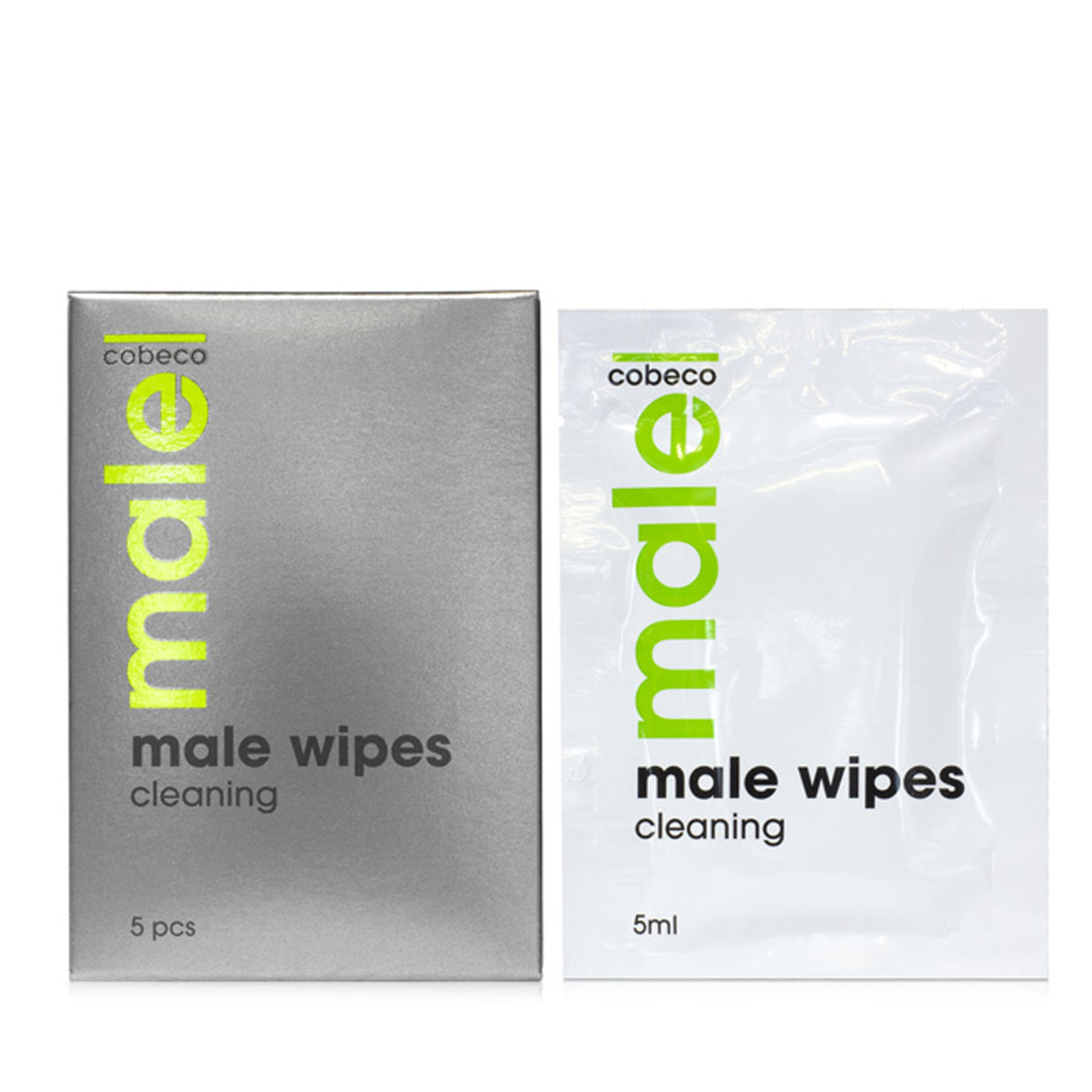 Cobeco MALE Wipes Cleaning 5 x 5 ml