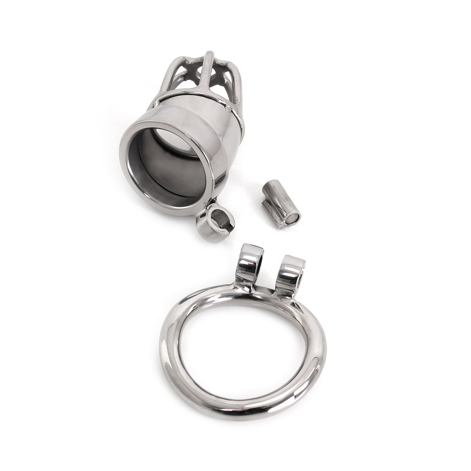 KIOTOS Steel Cock Tube Cage Chastity