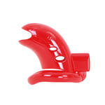 KIOTOS Plastic Chastity Cage Red