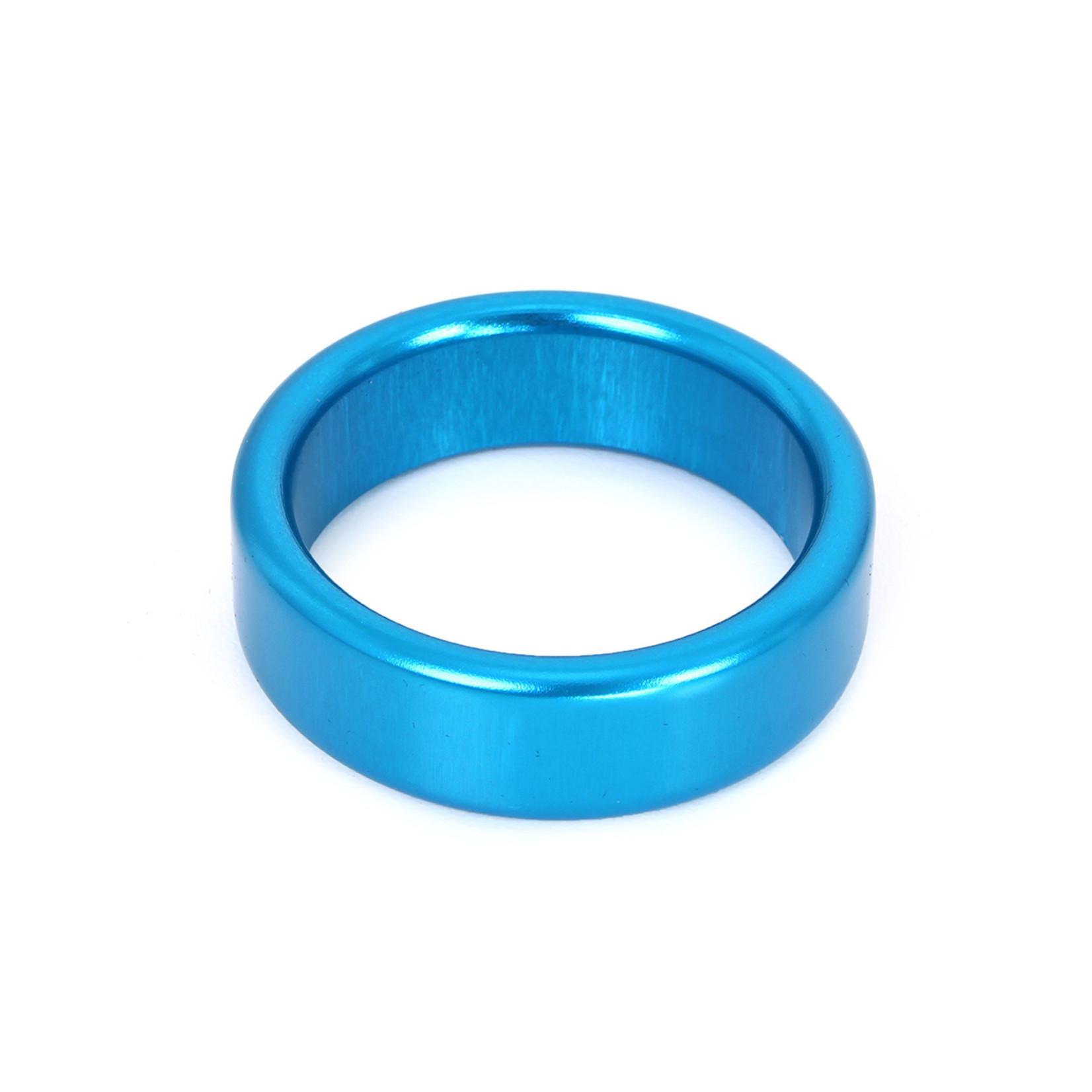 KIOTOS Steel Cockring Blauw Aluminium 40 mm
