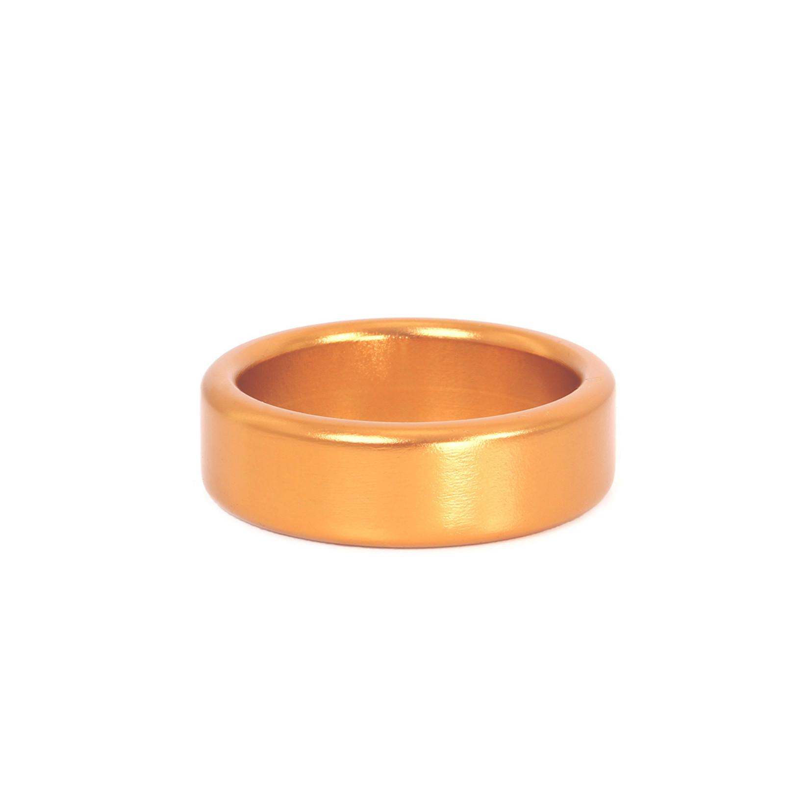 KIOTOS Steel Cockring Goud Aluminium 50 mm