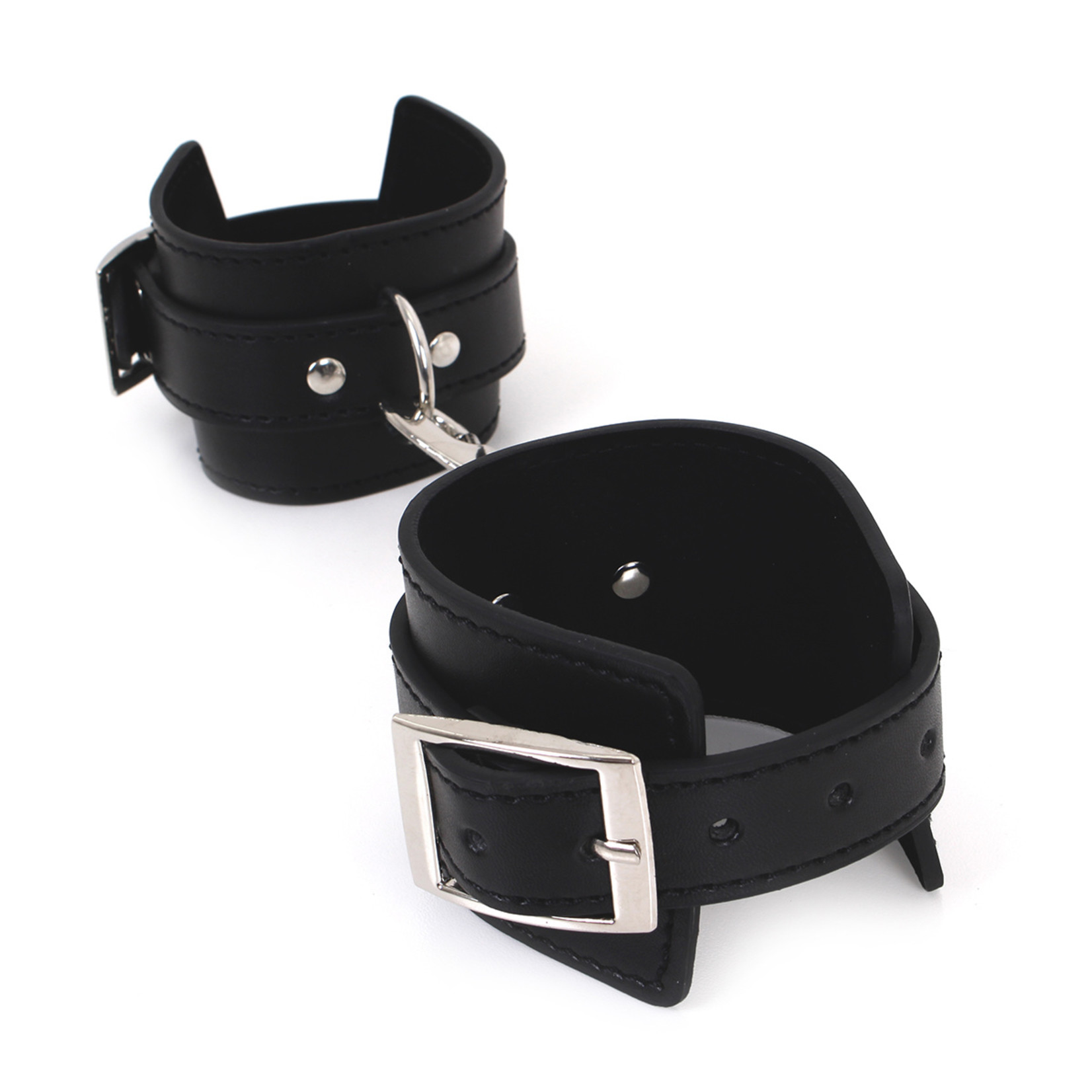 KIOTOS Leather Budget Wrist Cuffs met Double Hook