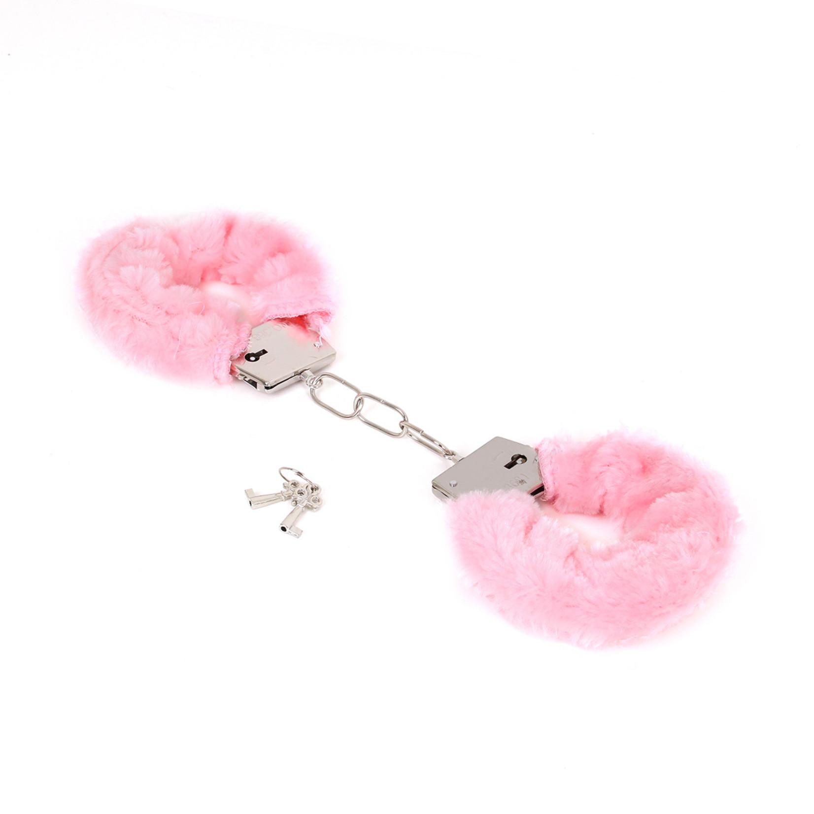KIOTOS Steel Budget Thin-Metal Pink Plush Handboeien
