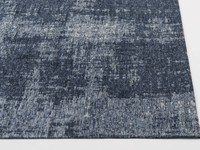 Real 35 - Vintage Teppich in  Dunkelblau