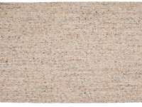 Teppich aus 100% Wolle in Beige
