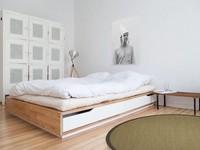 Sisal Teppich Premium 13 Beige rund mit hochwertiger Bordüre aus Baumwolle