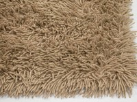 Schöner und weicher Hochflor Teppich Brüssel 15 Crème / Beige