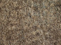 Schöner und weicher Hochflor Teppich Brüssel 17 Mix Braun