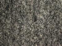 Schöner und weicher Hochflor Teppich Brüssel 23 Grau/Beige