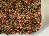 Schöner und weicher Hochflor Teppich Brüssel 69 Multicolor