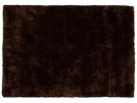 Hochflor Teppich Ross 19 Braun