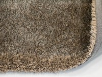 Hochflor Teppich Ross 16 Mix Beige/Grau