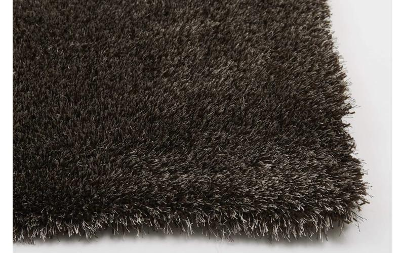 Hochflor Teppich Ross 18 Mix Braun