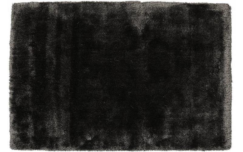 Hochflor Teppich Ross 26 Mix Anthrazit/Grau