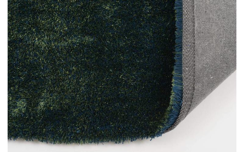 Hochflor Teppich Ross 53 Mix Blau/Grün