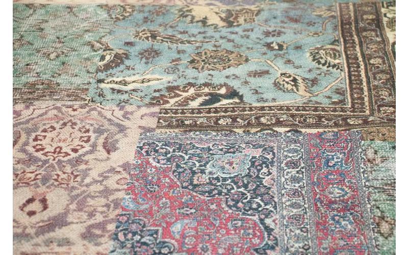 Vintage Teppich Pastel 99 Multicolor