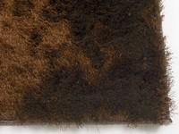 Hochflor Teppich Reef 18 Dunkelbraun