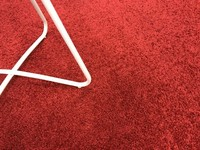 Preiswerter Hochflor Teppich Tore 45 Rot