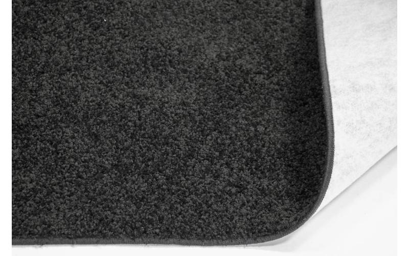 Preiswerter Hochflor Teppich Tore 25 Schwarz