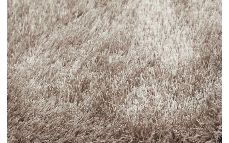 Hochflor Teppich Chester 15 Beige rund
