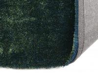 Hochflor Teppich Ross rund 53 Mix Blau/Grün