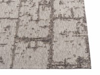Vintage Teppich Brique Dessin 22 Grau