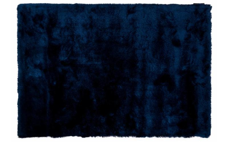 Hochflor Teppich Vernon 35 Navy Blue