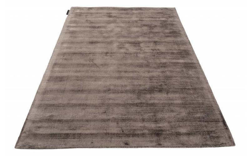 Design Teppich Crushed Velvet 18 Grau