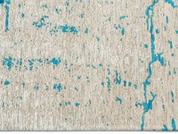 Vintage Teppich Prosper 33 - Türkis / Blau