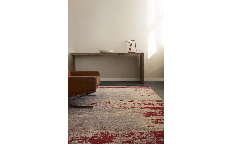 Vintage Teppich Cendre 46 Rost