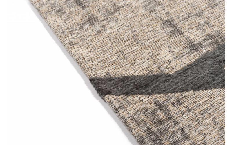 Hailey 23 - Schöner Teppich mit geometrischem Design in Grau/Blau