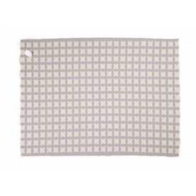 Cross Beige - In- & Outdoor-Teppich