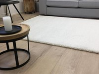 Hochflor Teppich Liv 11 Weiß