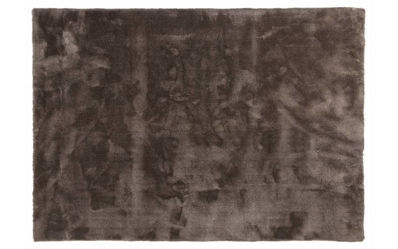 Moderner Hochflor Teppich Sandro 23 - Wolf Grau