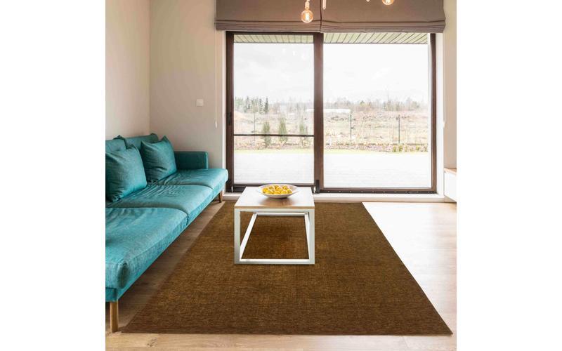 Mace 54 - Vintage Teppich in Olivgrün