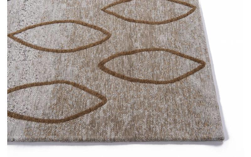 Bido 62 - Schöner Design Teppich in Ockergelb