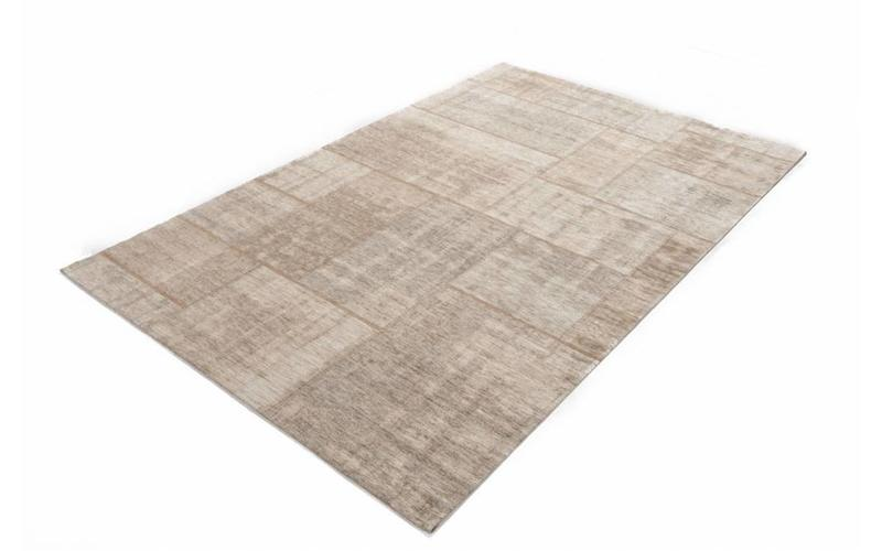 Pognum 11 - Einzigartiger Vintage Teppich in Beige