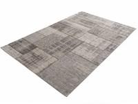 Pognum 23 - Einzigartiger Vintage Teppich in Grau