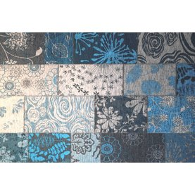 FloorPassion Chatel 34 - Patchwork Teppich