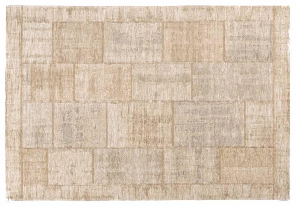 Vintage Patchwork Teppich In Hellbeige Floorpassion De Floorpassion