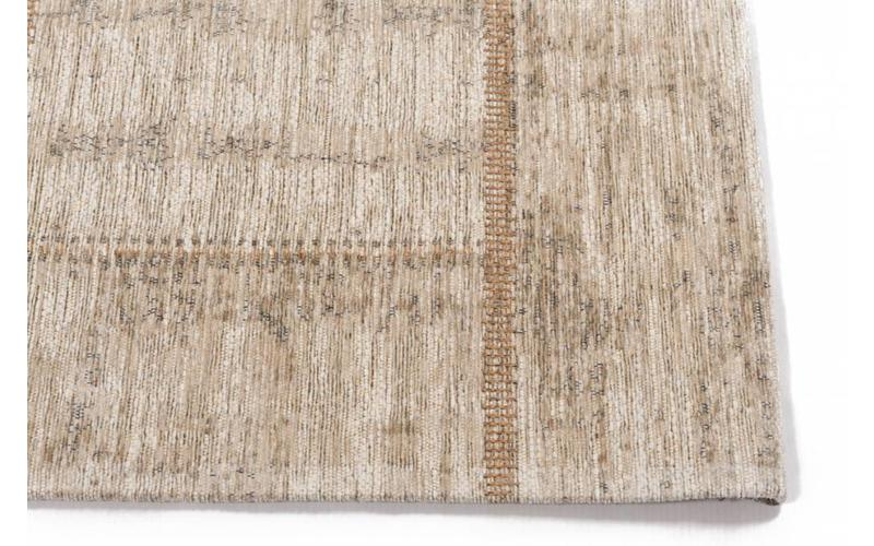 Enzo 11 - Vintage Patchwork Teppich in hellem Beige