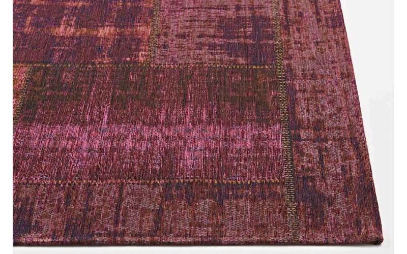 Enzo 49 - Vintage Patchwork Teppich in Lila