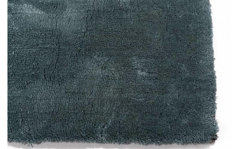 Moderner Hochflor Teppich Sandro 32 - Türkis