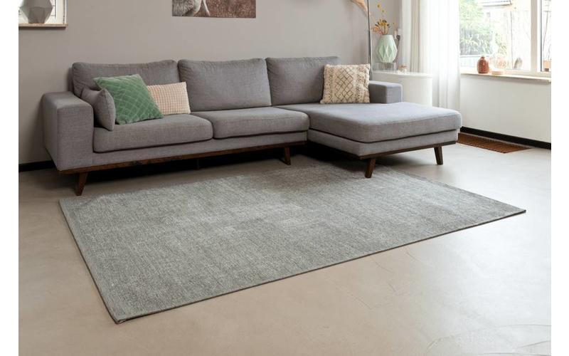 Mace 21 – Vintage Teppich in Hellgrau