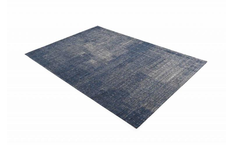 Mace 37 – Vintage Teppich in Dunkelblau