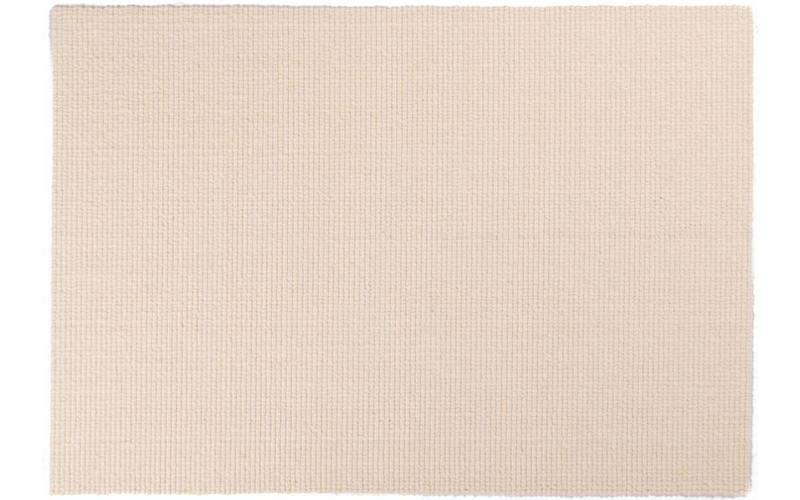 Beach Life 10 – Wollteppich in strahlendem Weiß