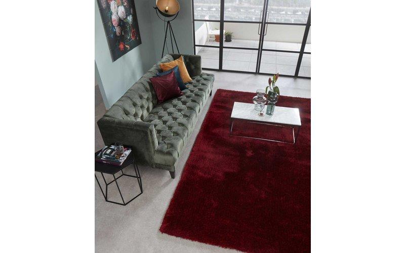 Hochflor Teppich Ross 44 Mix Rot