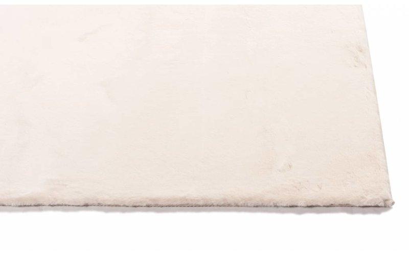 Fay Creme Weiß – Weicher Kuschelteppich in Creme Weiß
