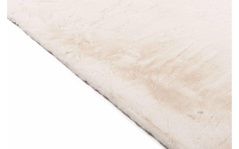 Fay Weiß – Weicher Kuschelteppich in Weiß